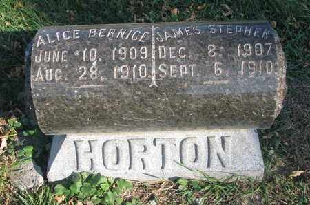 HORTON, ALICE BERNICE - Union County, South Dakota | ALICE BERNICE HORTON - South Dakota Gravestone Photos