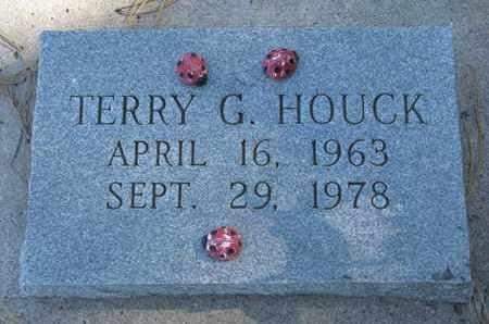 HOUCK, TERRY G. - Union County, South Dakota   TERRY G. HOUCK - South Dakota Gravestone Photos
