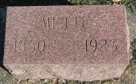 HOVEY, METTE - Union County, South Dakota | METTE HOVEY - South Dakota Gravestone Photos