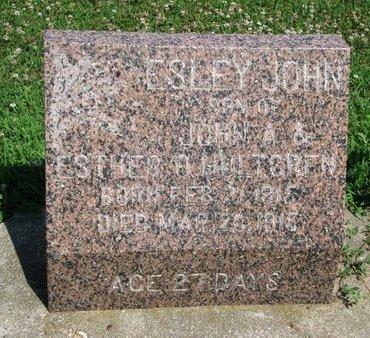 HULTGREN, ESLEY JOHN - Union County, South Dakota | ESLEY JOHN HULTGREN - South Dakota Gravestone Photos