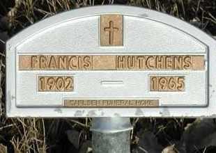 HUTCHINS, FRANCIS - Union County, South Dakota   FRANCIS HUTCHINS - South Dakota Gravestone Photos