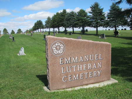 *EMMANUEL LUTHERAN, ENTRANCE - Union County, South Dakota | ENTRANCE *EMMANUEL LUTHERAN - South Dakota Gravestone Photos
