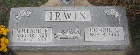 IRWIN, CONNIE D. - Union County, South Dakota | CONNIE D. IRWIN - South Dakota Gravestone Photos