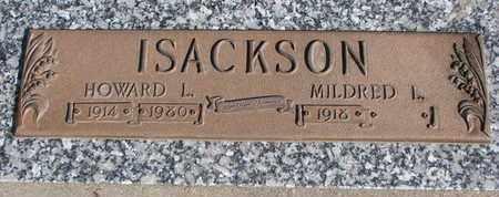 ISACKSON, MILDRED L. - Union County, South Dakota   MILDRED L. ISACKSON - South Dakota Gravestone Photos
