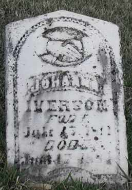 IVERSON, JOHANNA - Union County, South Dakota | JOHANNA IVERSON - South Dakota Gravestone Photos