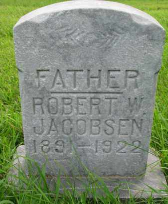 JACOBSEN, ROBERT W. - Union County, South Dakota | ROBERT W. JACOBSEN - South Dakota Gravestone Photos