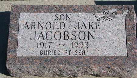 "JACOBSON, ARNOLD ""JAKE"" - Union County, South Dakota 