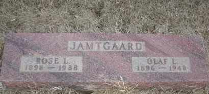 JAMTGAARD, OLAF L - Union County, South Dakota | OLAF L JAMTGAARD - South Dakota Gravestone Photos
