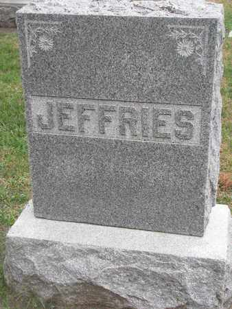 JEFFRIES, FAMILY STONE - Union County, South Dakota   FAMILY STONE JEFFRIES - South Dakota Gravestone Photos