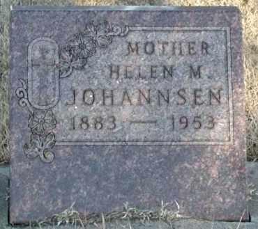 JOHANNSEN, HELEN M - Union County, South Dakota | HELEN M JOHANNSEN - South Dakota Gravestone Photos