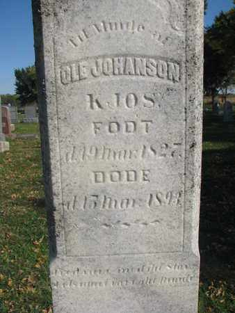 JOHANSON, OLE (CLOSEUP) - Union County, South Dakota | OLE (CLOSEUP) JOHANSON - South Dakota Gravestone Photos