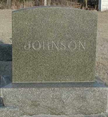 JOHNSON, *PLOT - Union County, South Dakota   *PLOT JOHNSON - South Dakota Gravestone Photos