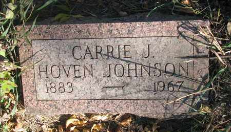 JOHNSON, CARRIE J. - Union County, South Dakota | CARRIE J. JOHNSON - South Dakota Gravestone Photos