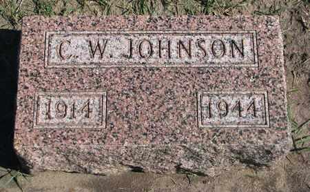 JOHNSON, C.W. - Union County, South Dakota   C.W. JOHNSON - South Dakota Gravestone Photos