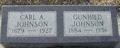 JOHNSON, GUNHILD - Union County, South Dakota | GUNHILD JOHNSON - South Dakota Gravestone Photos
