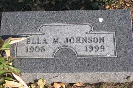 JOHNSON, ELLA M. - Union County, South Dakota | ELLA M. JOHNSON - South Dakota Gravestone Photos