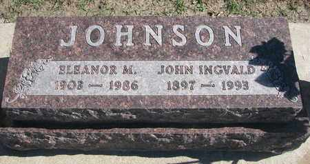 JOHNSON, ELEANOR M. - Union County, South Dakota | ELEANOR M. JOHNSON - South Dakota Gravestone Photos