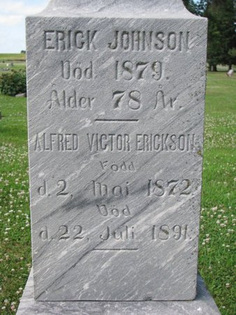ERICKSON, ALFRED VICTOR (CLOSEUP) - Union County, South Dakota | ALFRED VICTOR (CLOSEUP) ERICKSON - South Dakota Gravestone Photos