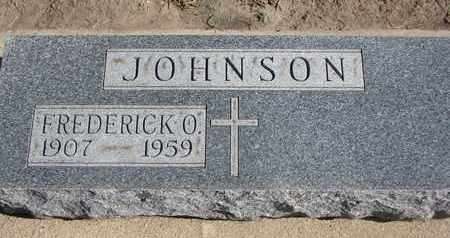 JOHNSON, FREDERICK O. - Union County, South Dakota | FREDERICK O. JOHNSON - South Dakota Gravestone Photos
