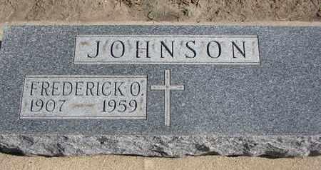 JOHNSON, FREDERICK O. - Union County, South Dakota   FREDERICK O. JOHNSON - South Dakota Gravestone Photos