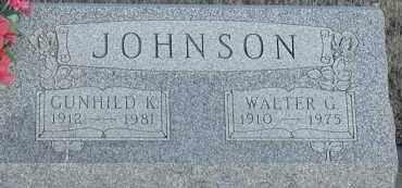 JOHNSON, GUNHILD - Union County, South Dakota   GUNHILD JOHNSON - South Dakota Gravestone Photos