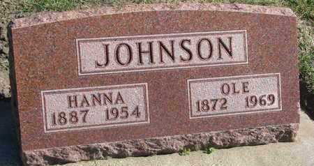JOHNSON, OLE - Union County, South Dakota | OLE JOHNSON - South Dakota Gravestone Photos
