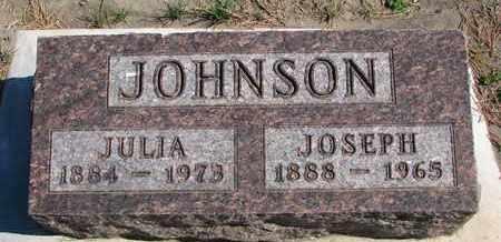 JOHNSON, JULIA - Union County, South Dakota   JULIA JOHNSON - South Dakota Gravestone Photos