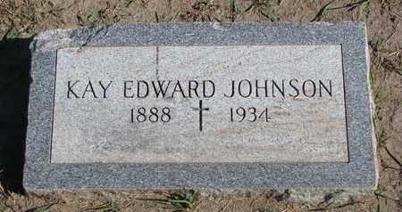 EDWARD JOHNSON, KAY - Union County, South Dakota | KAY EDWARD JOHNSON - South Dakota Gravestone Photos