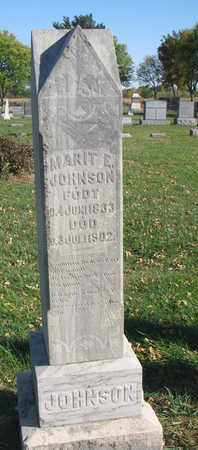 JOHNSON, MARIT E. - Union County, South Dakota   MARIT E. JOHNSON - South Dakota Gravestone Photos