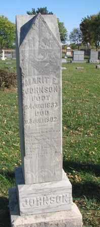 JOHNSON, MARIT E. - Union County, South Dakota | MARIT E. JOHNSON - South Dakota Gravestone Photos