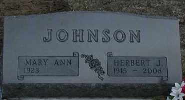 ANDERTON JOHNSON, MARY ANN - Union County, South Dakota | MARY ANN ANDERTON JOHNSON - South Dakota Gravestone Photos