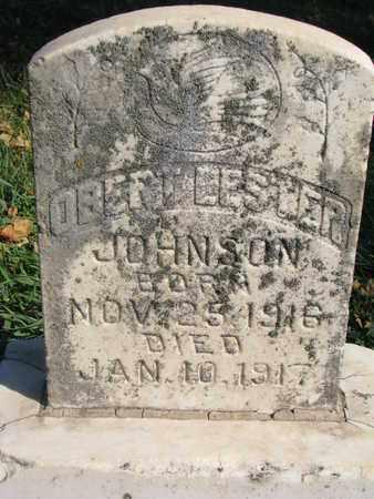 JOHNSON, OBERT LESTER - Union County, South Dakota | OBERT LESTER JOHNSON - South Dakota Gravestone Photos