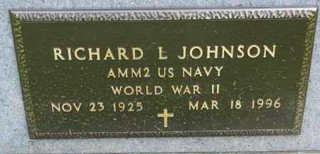 JOHNSON, RICHARD L. (WW II) - Union County, South Dakota | RICHARD L. (WW II) JOHNSON - South Dakota Gravestone Photos