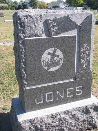 JONES, FAMILY STONE - Union County, South Dakota | FAMILY STONE JONES - South Dakota Gravestone Photos