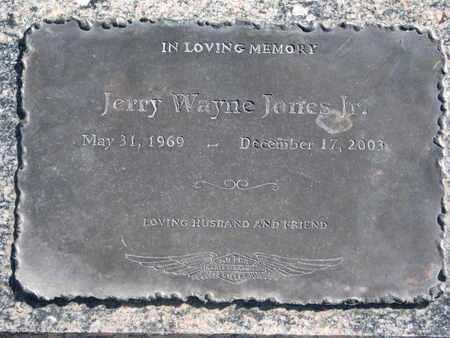 JONES, JERRY WAYNE JR. - Union County, South Dakota | JERRY WAYNE JR. JONES - South Dakota Gravestone Photos