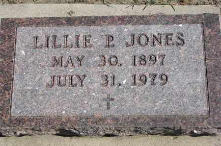 JONES, LILLIE P. - Union County, South Dakota | LILLIE P. JONES - South Dakota Gravestone Photos