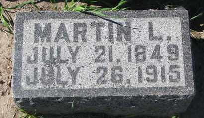 JONES, MARTIN L. - Union County, South Dakota | MARTIN L. JONES - South Dakota Gravestone Photos