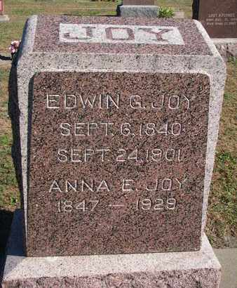 JOY, ANNA E. - Union County, South Dakota | ANNA E. JOY - South Dakota Gravestone Photos