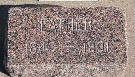 JOY, EDWIN (FOOTSTONE) - Union County, South Dakota | EDWIN (FOOTSTONE) JOY - South Dakota Gravestone Photos