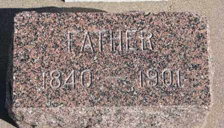 JOY, EDWIN (FOOTSTONE) - Union County, South Dakota | EDWIN (FOOTSTONE) JOY - South Dakota Gravestone Photos