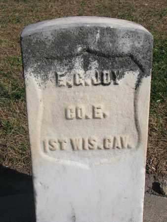 JOY, EDWIN C. (MILITARY) - Union County, South Dakota | EDWIN C. (MILITARY) JOY - South Dakota Gravestone Photos