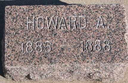 JOY, HOWARD A. - Union County, South Dakota   HOWARD A. JOY - South Dakota Gravestone Photos