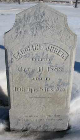 JUBER, CAROLINE - Union County, South Dakota | CAROLINE JUBER - South Dakota Gravestone Photos