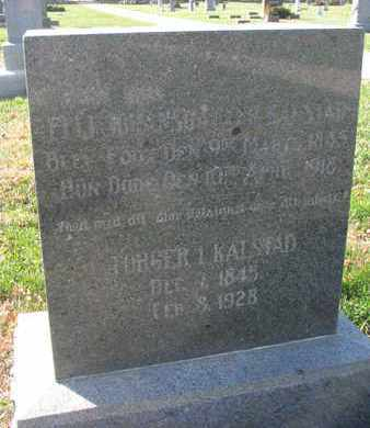 JOHANSDATTER KALSTAD, ELLI - Union County, South Dakota | ELLI JOHANSDATTER KALSTAD - South Dakota Gravestone Photos