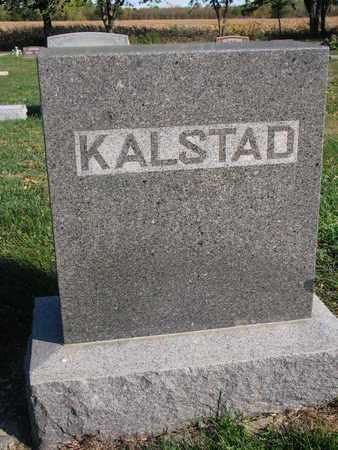 KALSTAD, *FAMILY STONE - Union County, South Dakota   *FAMILY STONE KALSTAD - South Dakota Gravestone Photos