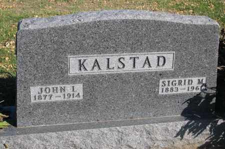 KALSTAD, JOHN I. - Union County, South Dakota | JOHN I. KALSTAD - South Dakota Gravestone Photos
