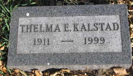 KALSTAD, THELMA E. - Union County, South Dakota   THELMA E. KALSTAD - South Dakota Gravestone Photos