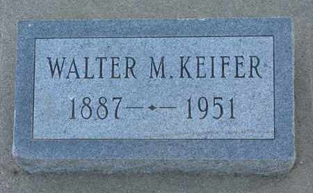 KEIFER, WALTER M. - Union County, South Dakota | WALTER M. KEIFER - South Dakota Gravestone Photos