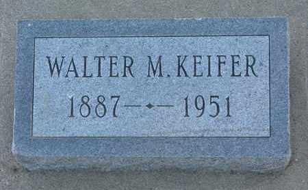 KEIFER, WALTER M. - Union County, South Dakota | WALTER M. KEIFER - South Dakota Gravestone Photos