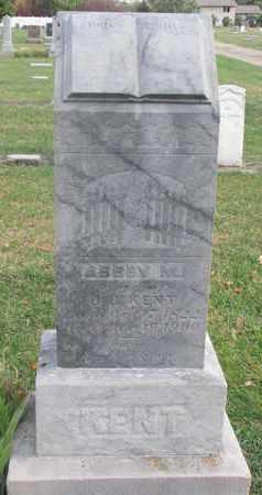 KENT, ABBEY M. - Union County, South Dakota   ABBEY M. KENT - South Dakota Gravestone Photos